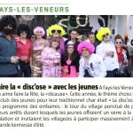 Article Kermesse Juillet 2012