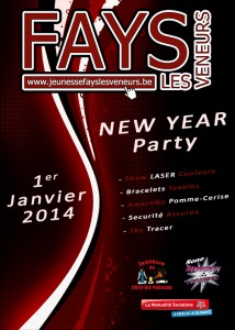 Affiches New Year 2014 petit